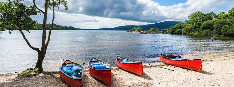 Kayak, Loch Lomond, Écosse ©Francesco Bonino/Shutterstock