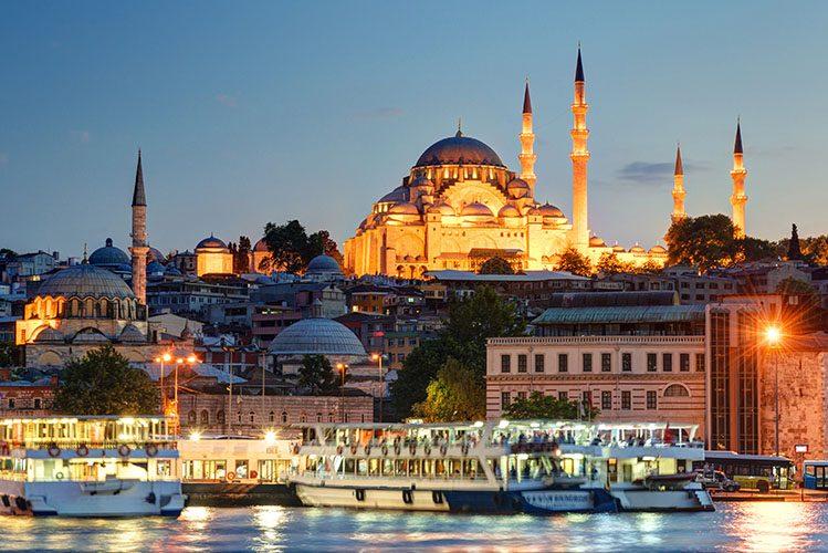 Sainte Sophie mosquée bleue Istanbul sortir