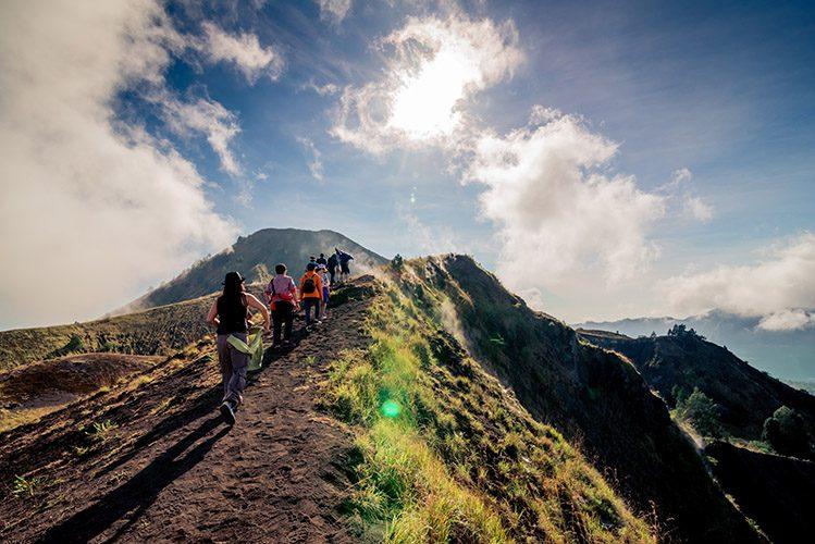 randonnée Mont Batur Bali activités