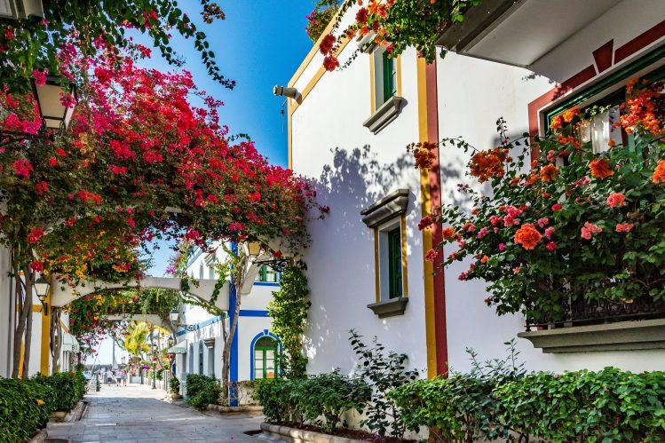 village Puerto de Mogan Gran Canaria Canaries