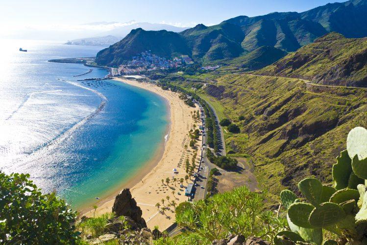 plage teresitas tenerife canaries