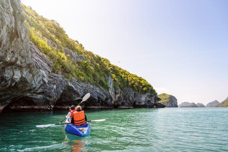 ang thong parc national thailande activites kayak