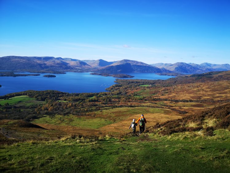 conic hill loch lomond randonnee west highland way ecosse