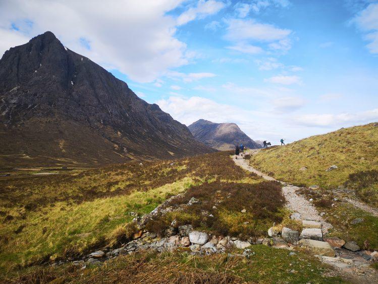 glencoe ecosse randonne west highland way