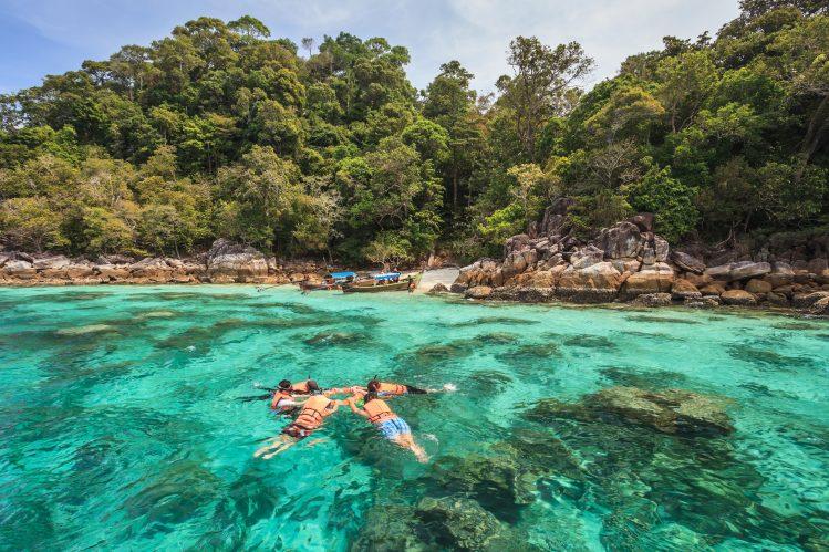 snorkeling koh lipe andaman mer thailande activites