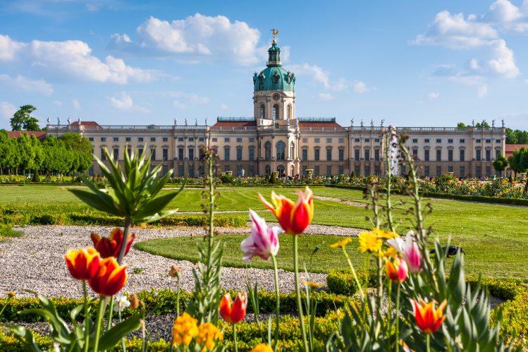 charlottenburg chateau berlin pluie