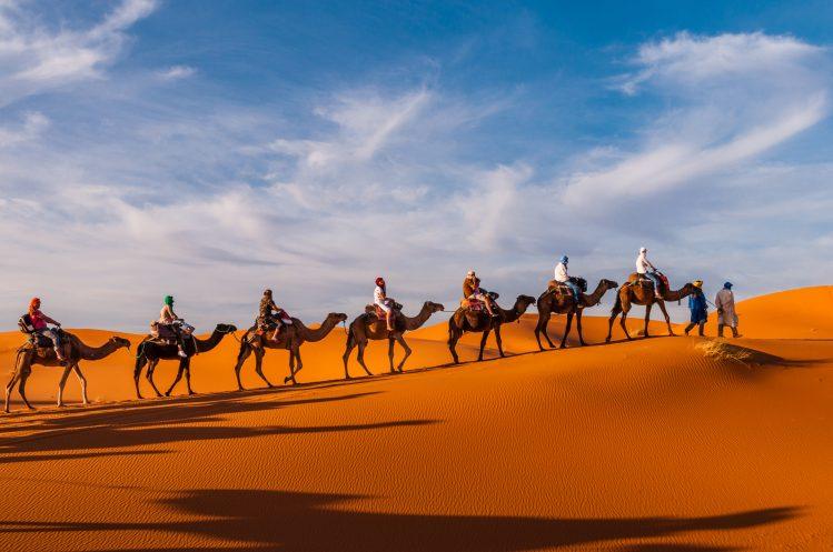 caravane erg chebbi maroc si vous aimez