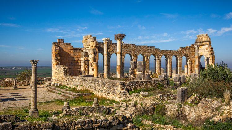 basilique volubilis ruines maroc si vous aimez