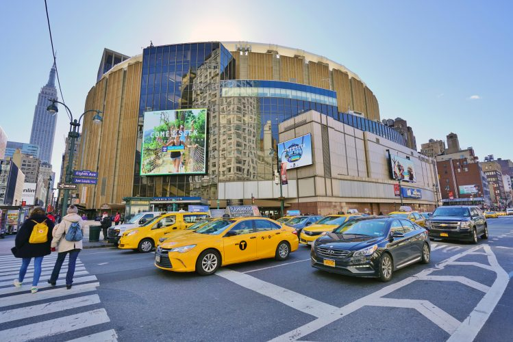 madison square garden new york nba knicks basket