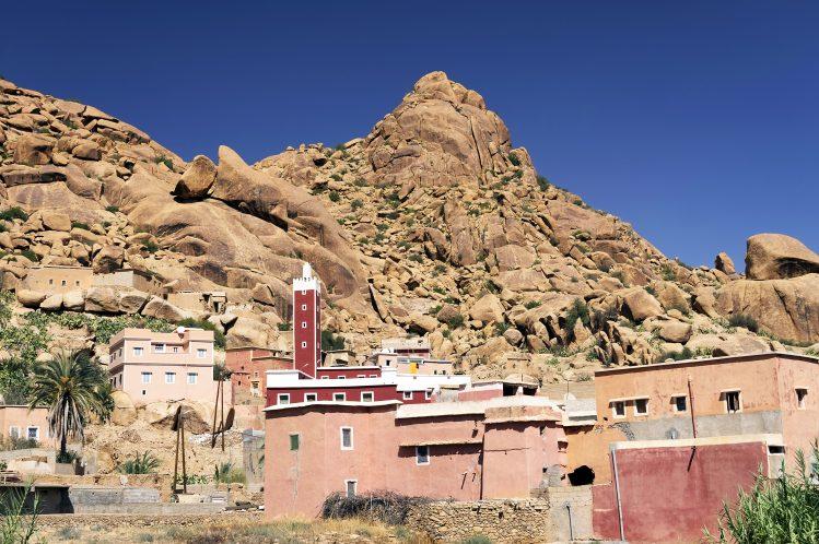 tafraoute village anti atlas maroc si vous aimez