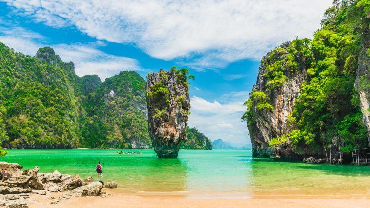phang nga thailande soleil