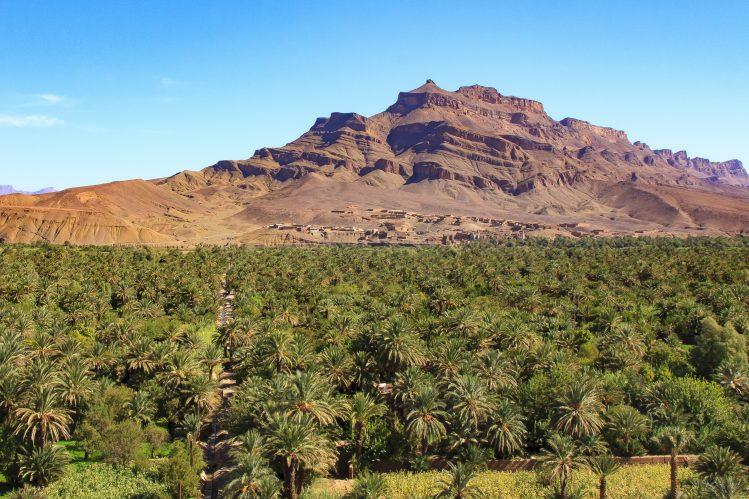 vallee du draa maroc itineraire