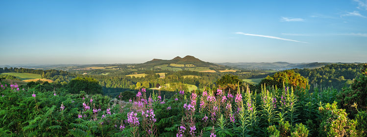 Eildon Hills, Borders ©Andras/Adobe Stock