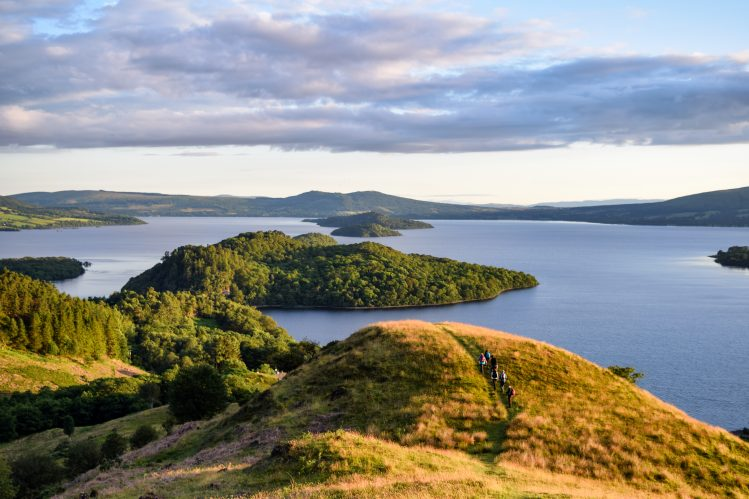 conic hill west highland way ecosse itineraire