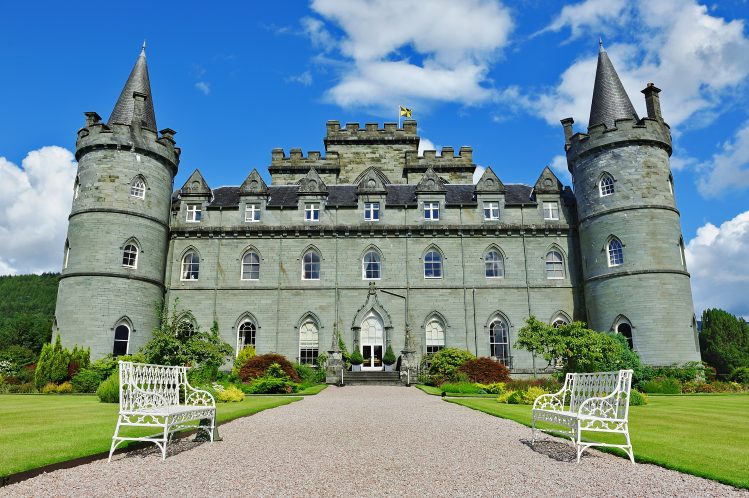 chateau inveraray ecosse