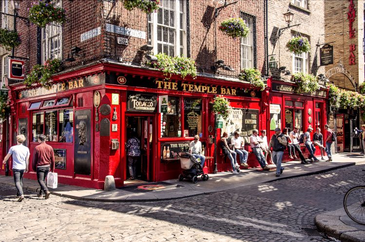 pub the temple bar dublin irlande