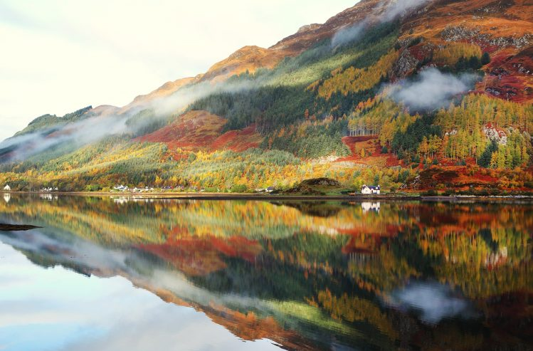 highlands ecosse automne