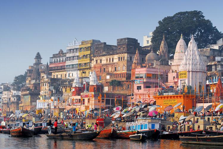 Asie Inde Gange livres prières ghats