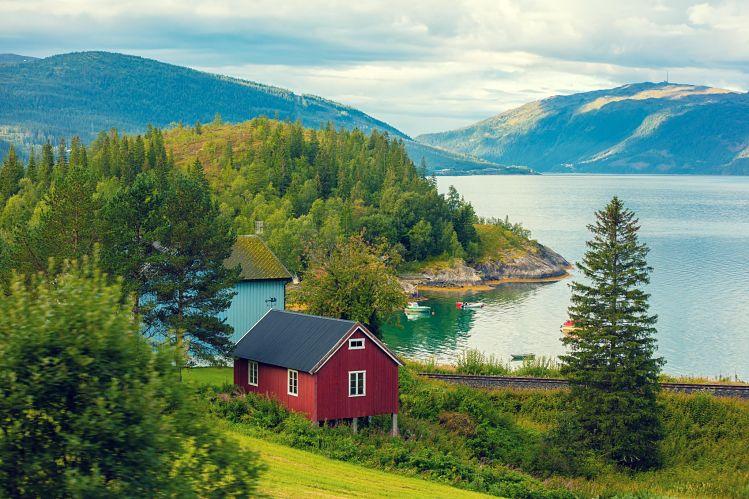 Norvège fjod