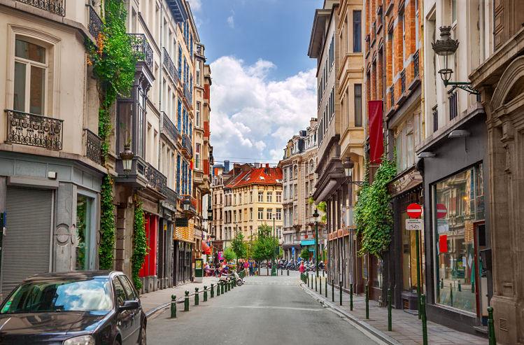Bruxelles livres europe rue