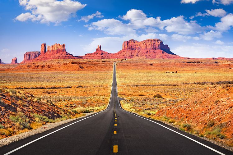 Monument Valley Arizona route livres