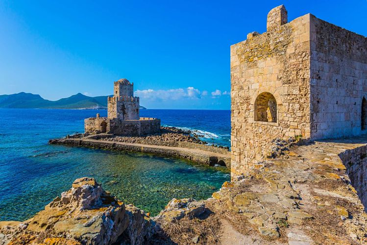 grèce methoni forteresse péloponnèse