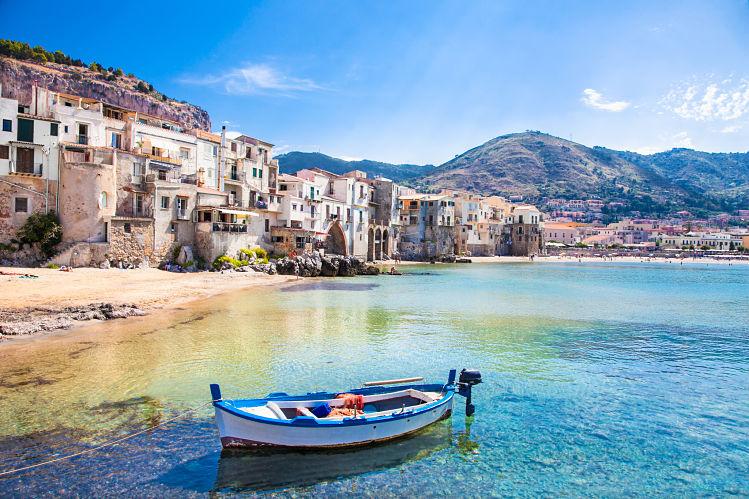 sicile île Cefalu livres monde