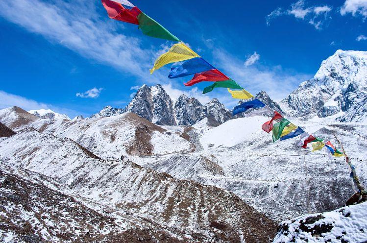 films voyager Himalaya prières Bouddhistes